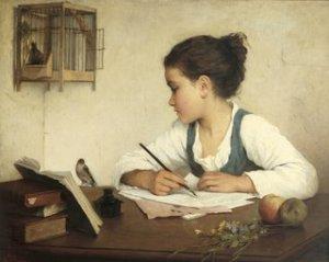 HenrietteBrowne-Menina_escrevendo