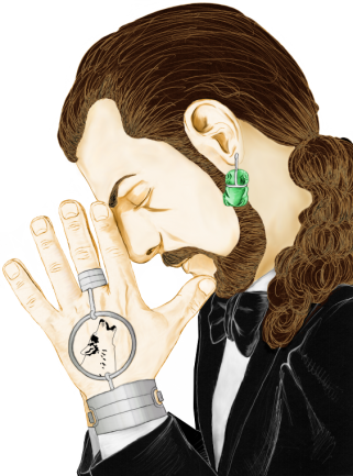 desenho de Julian Duarte e cores Simore Lore